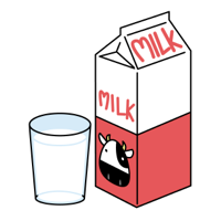 赤ら顔 ミルク